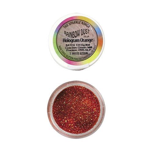 RD Sparkle Range - Glitzer - Hologram Orange