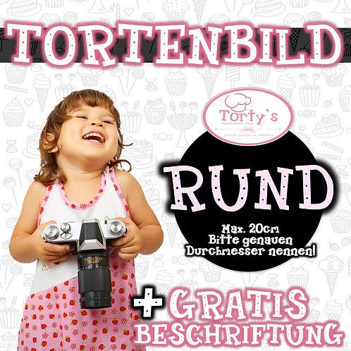 TORTENBILD - Rund