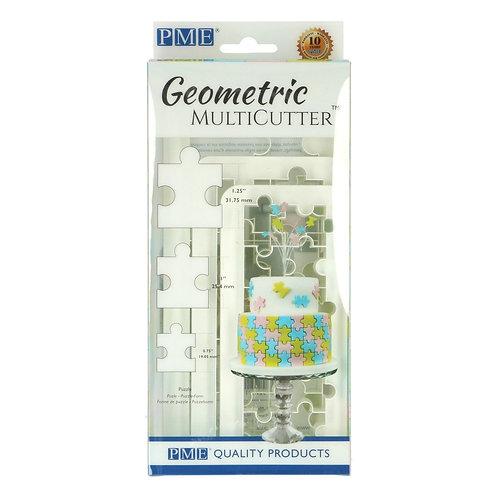PME - Geometric - Puzzle - 3er Set