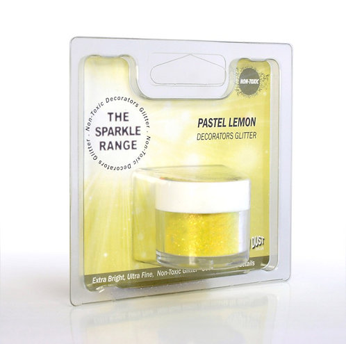 RD Sparkle Range - Glitzer - Pastel Lemon