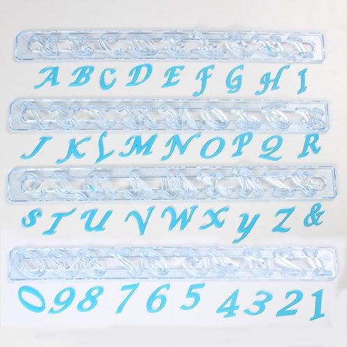 FMM Buchstaben Ausstecher Italian Set