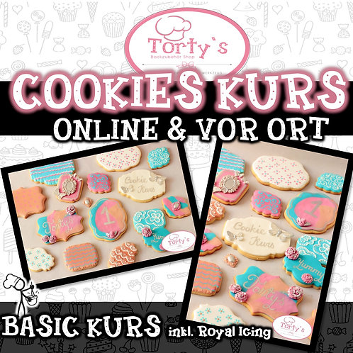 Torty`s - ONLINE Cookies Kurs - Inkl. Royal Icing 23.05.20
