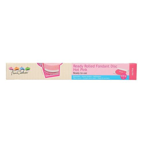 FunCakes - Fondantdecke ausgerollt - Hot Pink