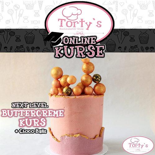 Torty`s - ONLINE Buttercreme Kurs - Inkl. ChocoBalls - 09.05.20