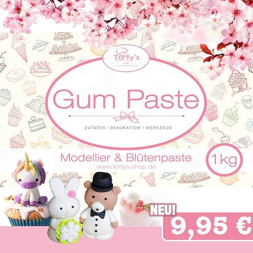 Torty`s - Gum Paste - Modellier und Blütenpaste - 1kg