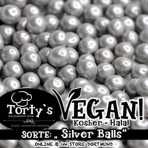 Tortys - Vegane Streusel - Silver Balls - 100g