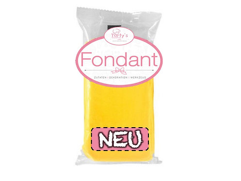 Torty`s Fondant - 250g - Gelb