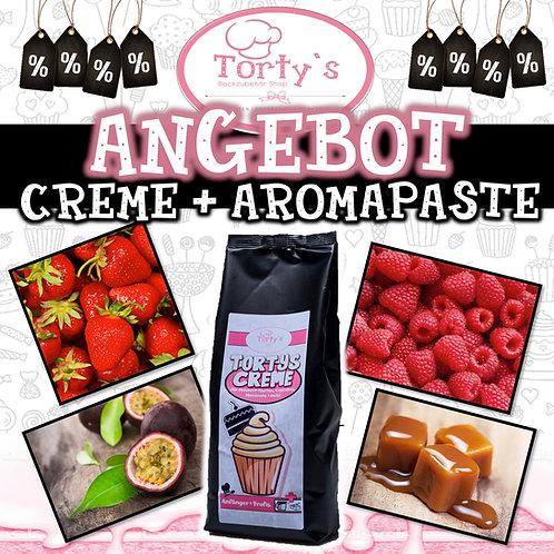 Torty`s Creme+ Aromapaste Set