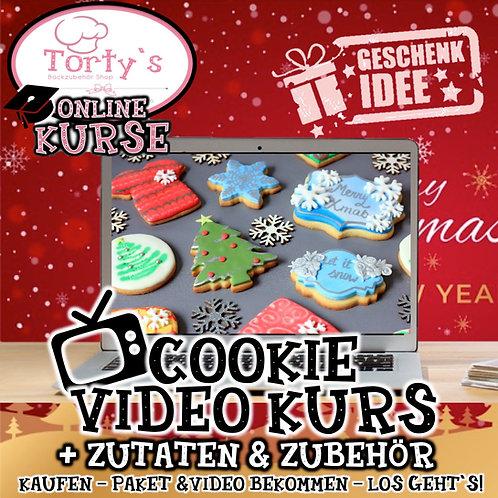 Torty`s - VIDEO KURS Cookies - inkl. allen Zutaten!