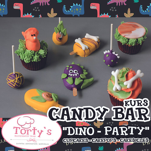 Torty`s - Candy Bar Kurs - Thema: DINO PARTY - 28.02.21
