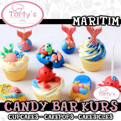 Torty`s - Candy Bar Kurs - Thema: Maritim - 27.06.21