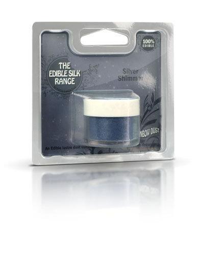 RD Sparkle Range - Glitzer - Silber Shimmer