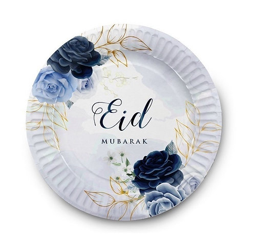 Eid Bayram - 6 Teller - Blau