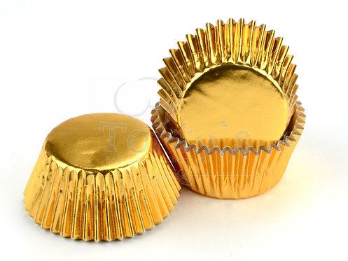 Muffin/Cupcake Förmchen Alu Gold 60 Stück