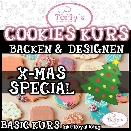 NEU! COOKIE KURS - inkl Royal Icing - XMAS Special  21.11.20