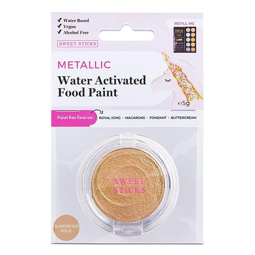 Essbare Farbe - Metallic - Glamorous Gold