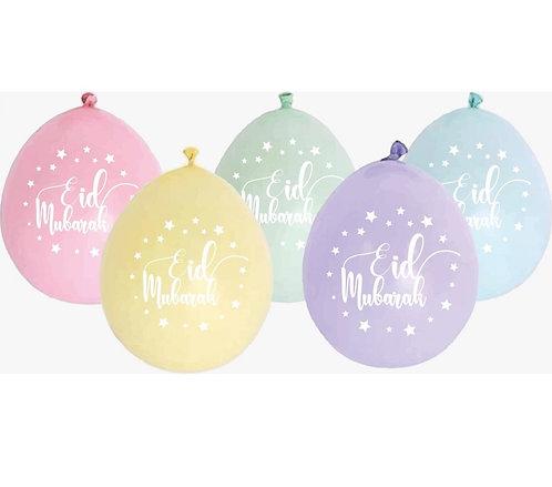 Eid Bayram - Ballons - Bunt  10Stk.