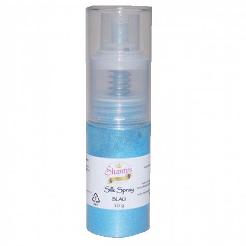 Seidenpulver Spray - BLAU - 10g