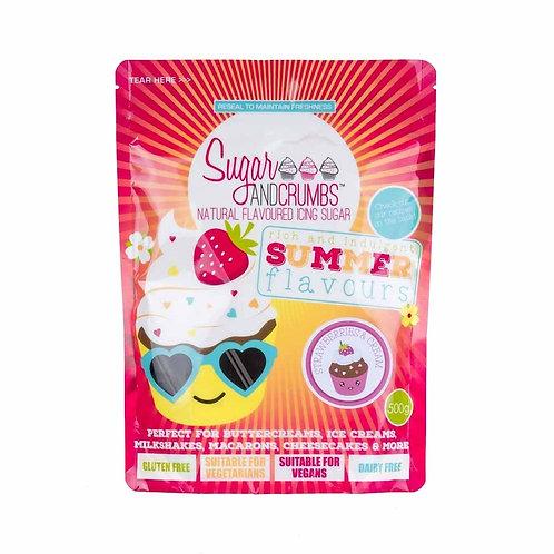 Buttercreme Mix - Strawberry & Cream