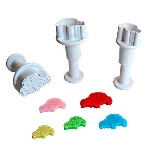 Stempelausstecher - Auto Mini  - 3er Set