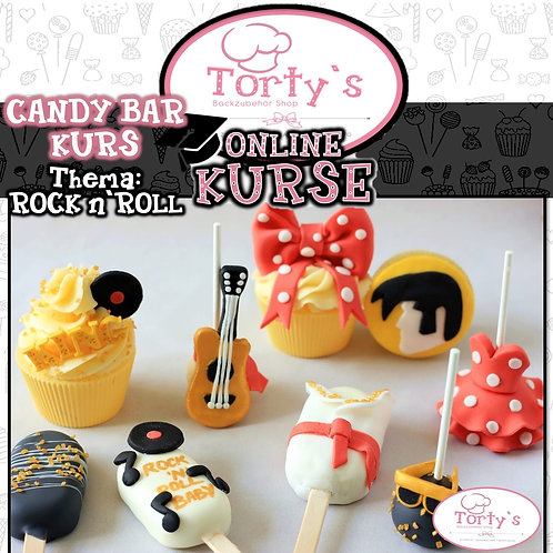 Torty`s - ONLINE Candy Bar Kurs - Thema: Rock n Roll- 02.05.20