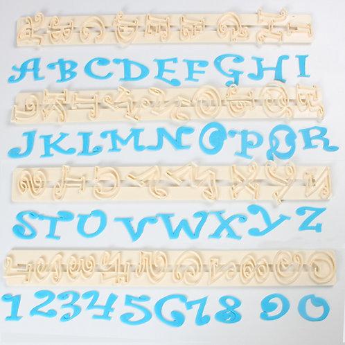 FMM Buchstaben Ausstecher Chunky Funky 2cm