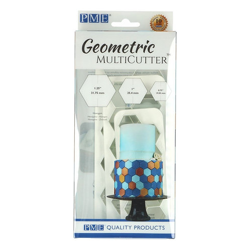 PME - Geometric - Hexagon - 3er Set