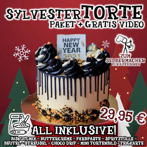 Tortys Torten-Box mit GRATIS Video - All Inclusive - Sylvester