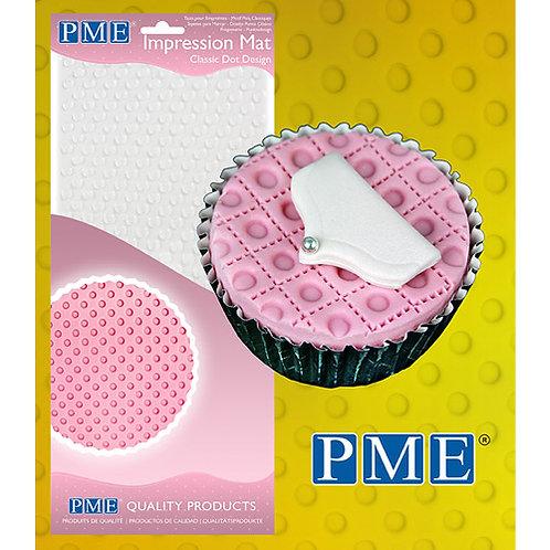 PME Impression Mat Classic Dot / Punkt