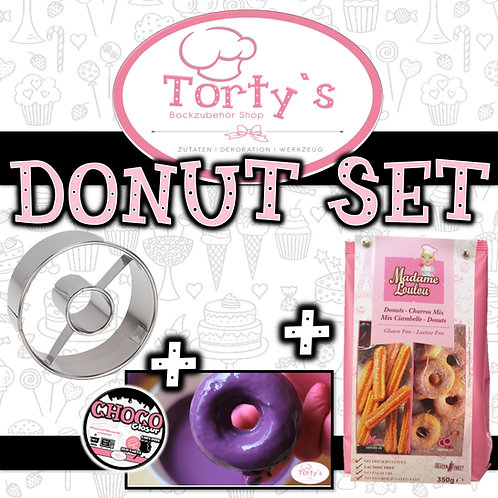 Tortys - Donuts Set