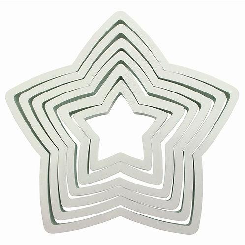 PME Plastic Cutter Star 6/Set