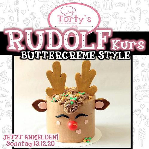 Torty`s - Rudolf - Buttercreme Kurs mit Fondant Deko - 13.12.20