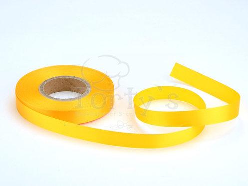 Satinband - Deko - Gelb