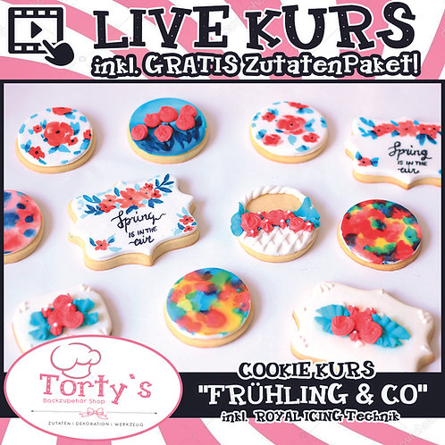 ONLINE LIVE - COOKIE KURS - 02.04.21 (Karfreitag)