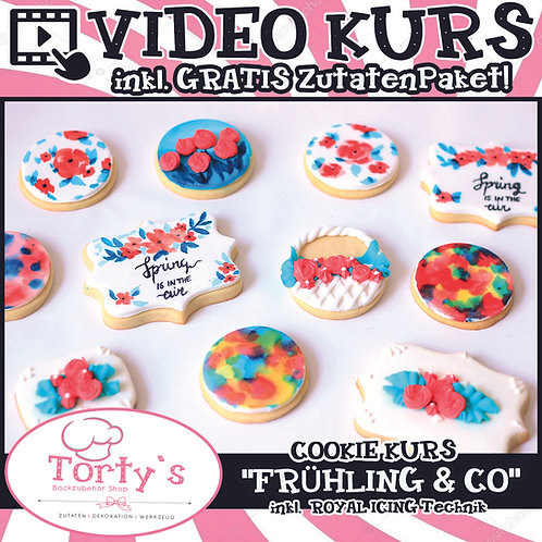 VIDEO - COOKIE KURS - Frühling und  Co