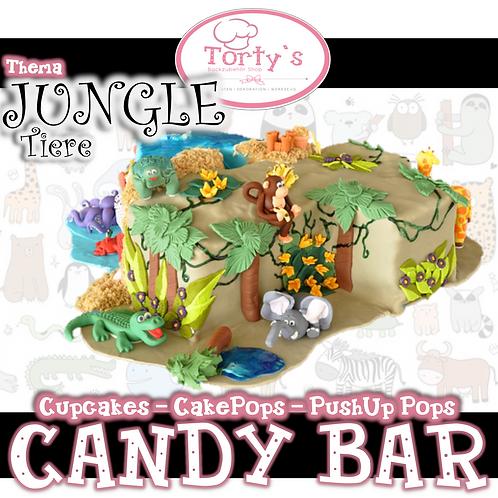 Torty`s - Candy Bar Kurs - Jungle Tiere - 30.06.19