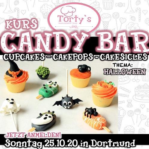 Torty`s - Candy Bar Kurs - Thema: Halloween - 25.10.20