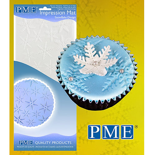 PME Impression Mat Snowflake / Schneeflocke