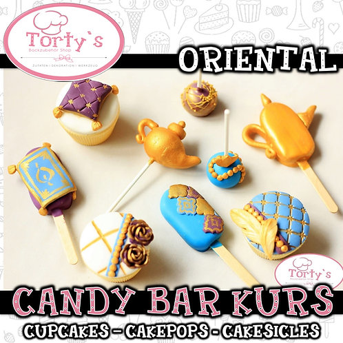Torty`s - Candy Bar Kurs - Thema: Oriental - 25.07.21