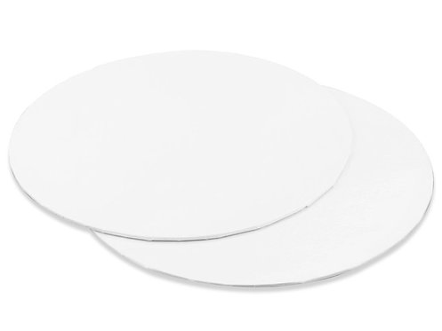 Tortys - Tortenplatte Weiss - Rund Dünn