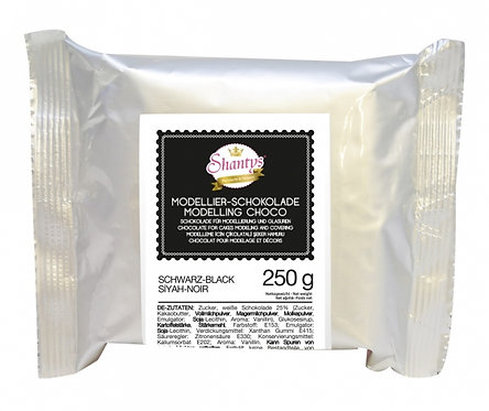 Modellier Schokolade - 250g - Schwarz