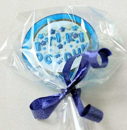 Lolly - Geburtstag - Blau Türkisch