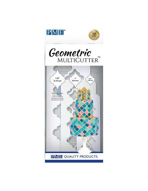 PME - Geometric - Marokk. Lampe - 3er Set