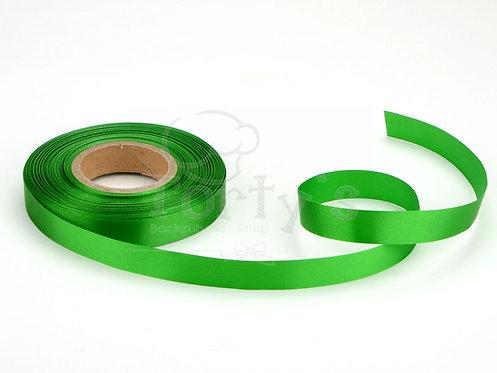 Satinband - Deko - Grün