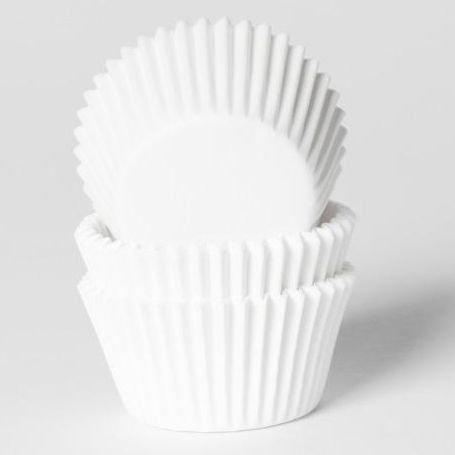 Cupcakes/Muffin Cups - Weiß  60 Stück
