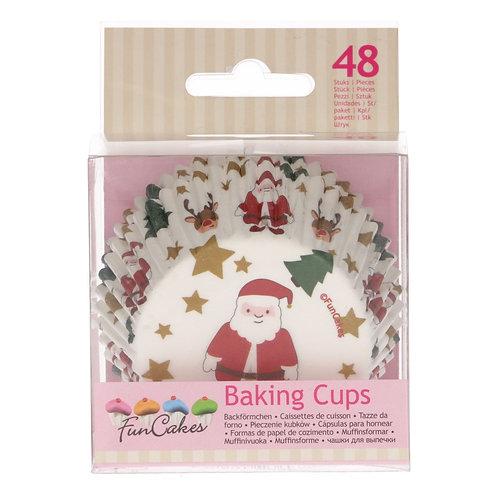 Muffin/Cupcake Förmchen Weihnachten 48 Stück