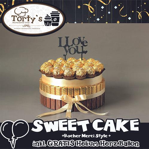 Sweet Cake - Rocher und Merci Style