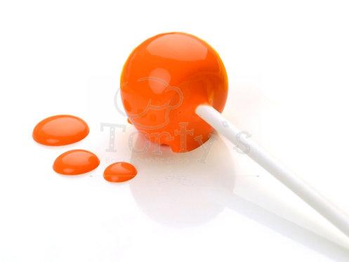 Choco Drip Glasur - Orange - für CakePops, DripCakes und mehr