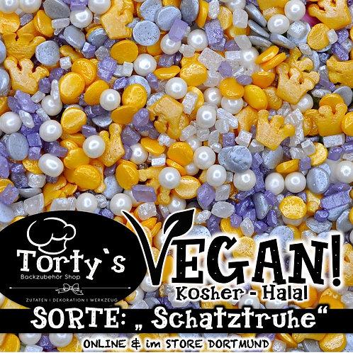Tortys - Vegane Streusel - Schatztruhe - 100g