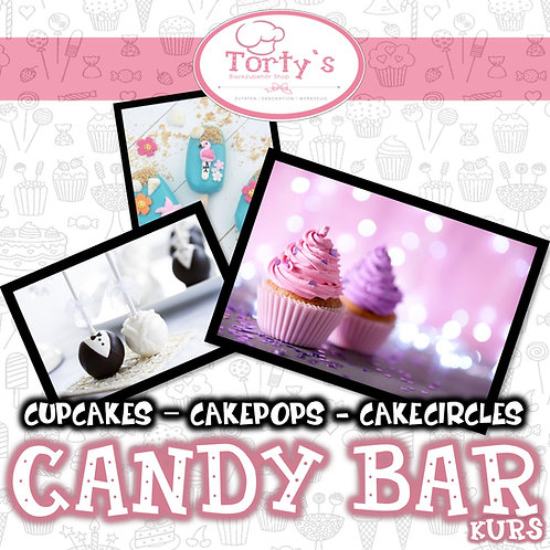 Torty`s - Candy Bar Kurs - Thema: Winterland a la Elsa - 28.11.21